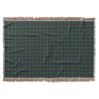 Scottish Clan Farquharson Tartan Throw Blanket