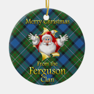 Scottish Clan Ferguson Christmas Ornament