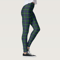 Scottish Clan Forbes Tartan Leggings