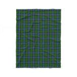 Scottish Clan Forsyth Forsythe Classic Tartan Fleece Blanket