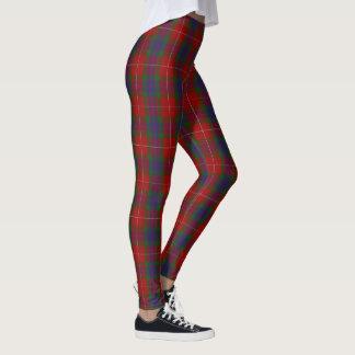 Scottish Clan Fraser Tartan Leggings