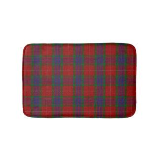 Scottish Clan Fraser Tartan Plaid Bath Mat