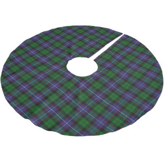Scottish Clan Galbraith Tartan Brushed Polyester Tree Skirt