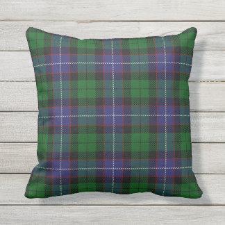 Scottish Clan Galbraith Tartan Outdoor Pillow