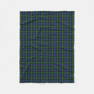Scottish Clan Gordon Classic Tartan Fleece Blanket