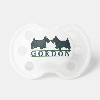 Scottish Clan Gordon Scottie Dogs Tartan Pacifier