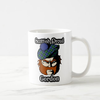 Scottish Clan Gordon Tartan Scottish Classic White Coffee Mug