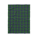 Scottish Clan Graham Classic Tartan Fleece Blanket