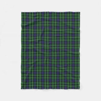 Scottish Clan Graham Classic Tartan Fleece Blanket