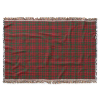 Scottish Clan Grant Tartan Throw