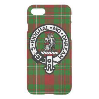 Scottish Clan Gregor Tartan and Crest iPhone 7 Case