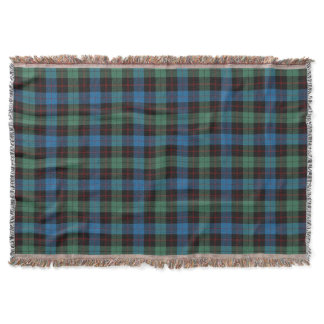 Scottish Clan Guthrie Tartan Throw Blanket