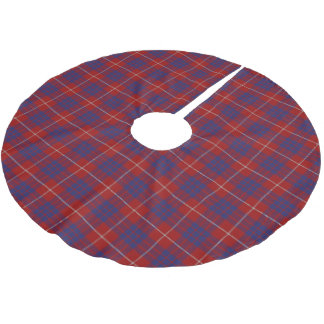 Scottish Clan Hamilton Tartan Brushed Polyester Tree Skirt