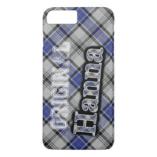 Scottish Clan Hanna Hannay Tartan iPhone 7 Plus Case