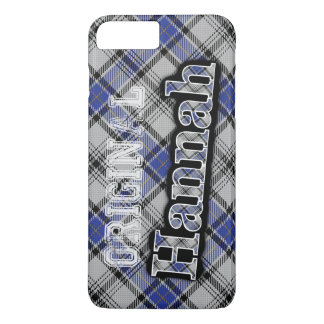 Scottish Clan Hannah Hannay Tartan iPhone 8 Plus/7 Plus Case