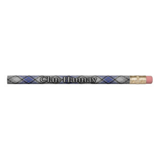 Scottish Clan Hannay Classic Tartan Pencil