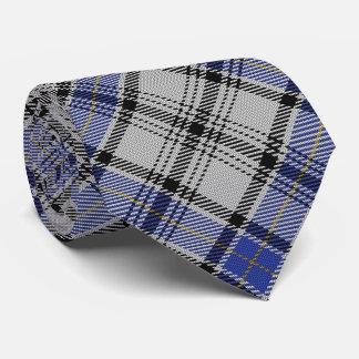 Scottish Clan Hannay H Monogram Tartan Neck Tie