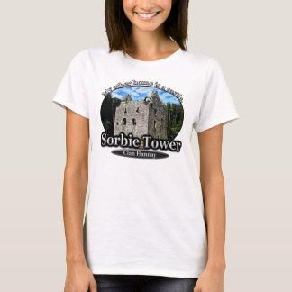 Scottish Clan Hannay Sorbie Tower Castle T-Shirt