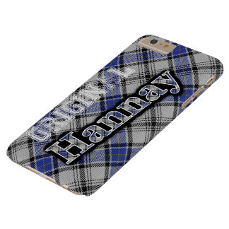 Scottish Clan Hannay Tartan Barely There iPhone 6 Plus Case