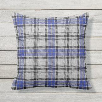 Scottish Clan Hannay Tartan Outdoor Pillow