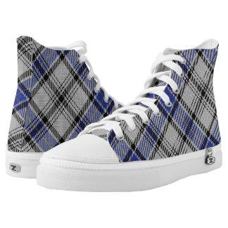 Scottish Clan Hannay Tartan Printed Shoes