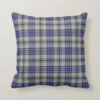 Scottish Clan Hannay Tartan Throw Pillow
