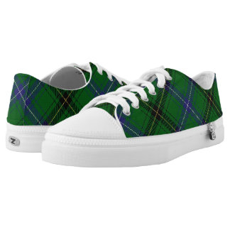 Scottish Clan Henderson Tartan Low-Top Sneakers