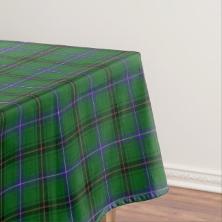 Great Scottish Clan Henderson Tartan Tablecloth