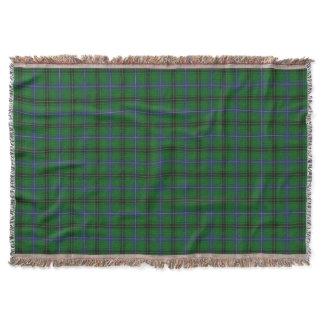 Scottish Clan Henderson Tartan Throw