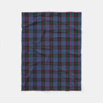 Scottish Clan Home Classic Tartan Fleece Blanket