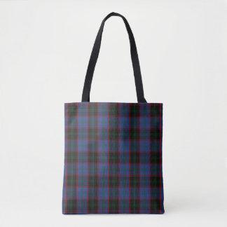 Scottish Clan Home Tartan Plaid Tote Bag