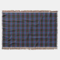 Scottish Clan Home Tartan Throw Blanket