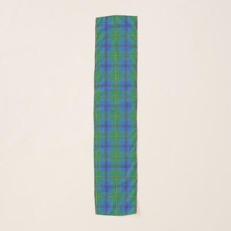 Scottish Clan Johnstone Johnston Tartan Plaid Scarf