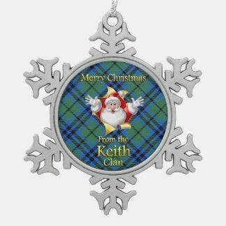 Scottish Clan Keith Christmas Ornament
