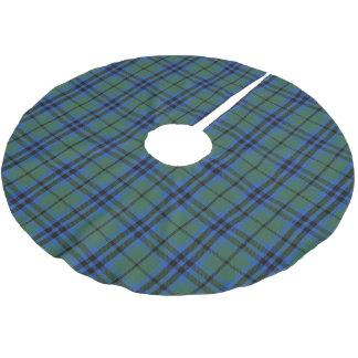 Scottish Clan Keith Tartan Brushed Polyester Tree Skirt