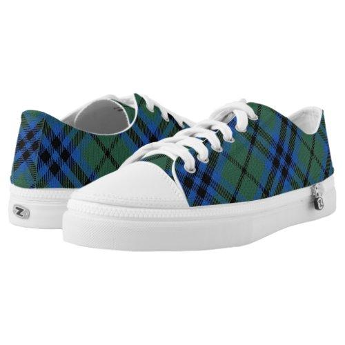 Scottish Clan Keith Tartan Low-Top Sneakers