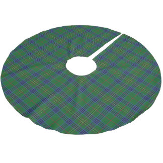 Scottish Clan Kennedy Tartan Brushed Polyester Tree Skirt