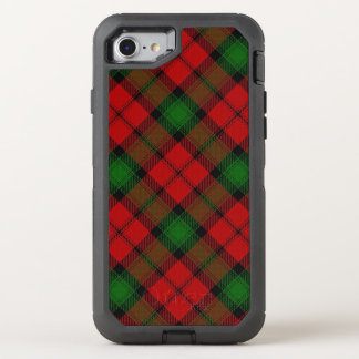 Scottish Clan Kerr Red and Green Tartan OtterBox Defender iPhone 7 Case