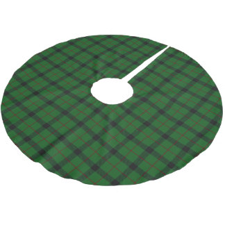 Scottish Clan Kincaid Tartan Brushed Polyester Tree Skirt