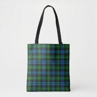 Scottish Clan Lamont Tartan Plaid Tote Bag