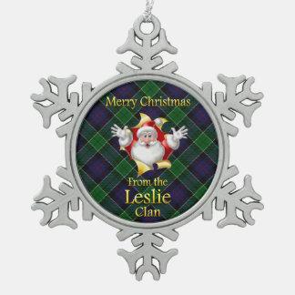 Scottish Clan Leslie Christmas Ornament