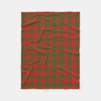 Scottish Clan Livingstone Classic Tartan Fleece Blanket