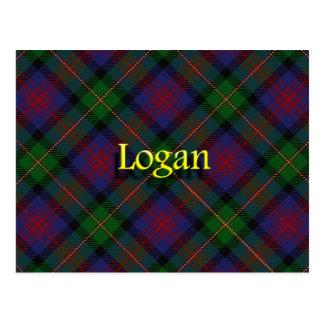 Scottish Clan Logan Postcard