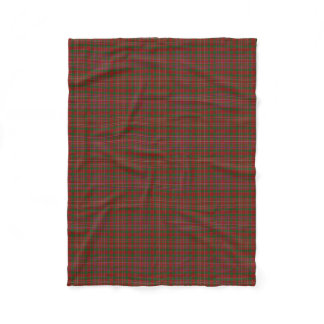 Scottish Clan MacAlister Classic Tartan Fleece Blanket