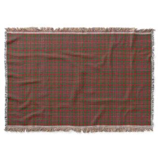 Scottish Clan MacAlister Tartan Throw
