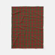 Scottish Clan MacAulay Classic Tartan Fleece Blanket