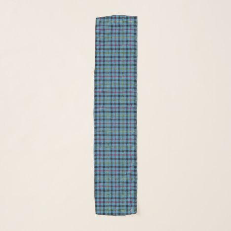 Scottish Clan MacCrimmon Tartan Plaid Scarf