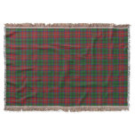 Scottish Clan MacCulloch MacCullough Tartan Throw Blanket