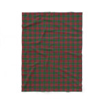 Scottish Clan MacCulloch McCullough Classic Tartan Fleece Blanket