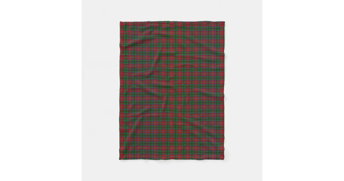 Scottish Clan Macculloch Mccullough Classic Tartan Fleece